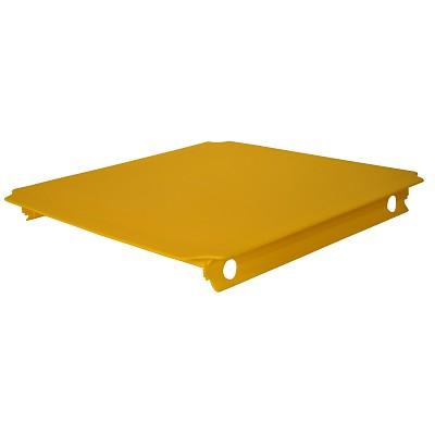 Moveandstic panel 40x40 cm, yellow