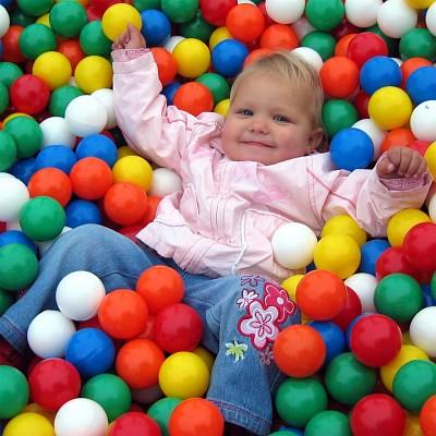 Moveandstic balls - 500 pieces - 60 mm