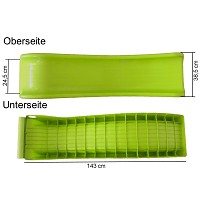 Apple-green slide dimensions