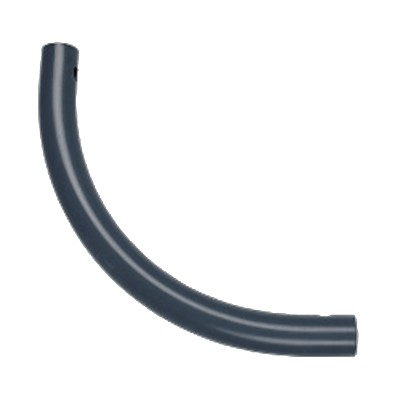 Moveandstic curved tube, grey