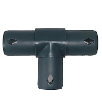 Moveandstic 3 way T connector, gray