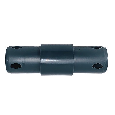 Moveandstic 2 way connector straight, gray