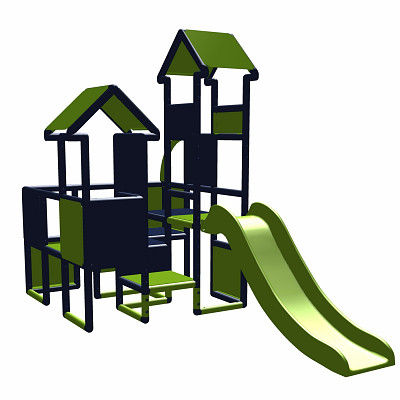 Moveandstic - Play Castle with Slide