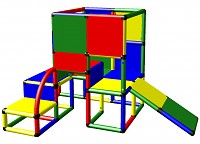 Moveandstic Leni - Climbing Tower with Toddler Slide