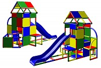 Lisa - Climbing Tower with Slide and Attachment