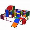 Moveandstic - Play Structure with Play House and Slide