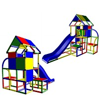 Laura - Big Play Tower with Roof and Slide