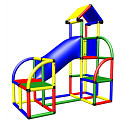 Moveandstic - Climbing Tower with Crawling Tube and Exit