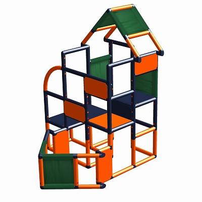 Moveandstic Frieda -motor boat orange/titanium grey