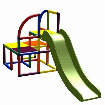 Moveandstic tower with slide Teo
