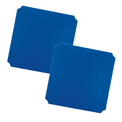 Moveandstic panel 40x40 cm, blue - Set of 2
