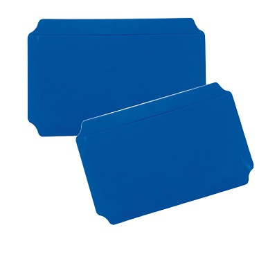Moveandstic panel 20x40 cm, blue, Set of 2