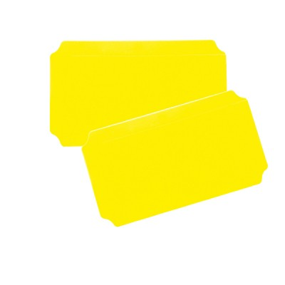 Moveandstic panel 20x40 cm, yellow, Set of 2