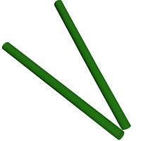 Moveandstic tube 75 cm, green, Set of 2
