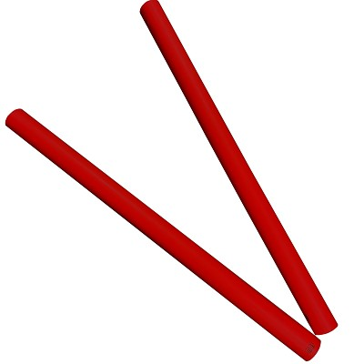 Moveandstic tube 75 cm, red, Set of 2