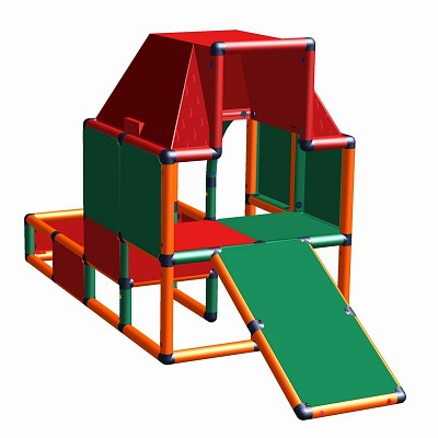Moveandstic Fabian - play house with toddlers slide