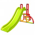 Moveandstic - my first slide Alma - red orange green - baby slide with starter set