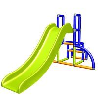 My first slide Alma - blue orange apple green - baby slide with entry set Easy - garden slide MAS children slide