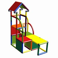 Moveandstic Cara - climbing tower multicolor