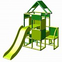 Moveandstic Lisa - Climbing Tower with Slide and Attachment, green