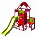 Moveandstic Lisa - big tower with slide magenta/ red