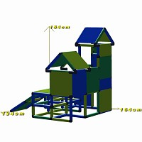 Play tower Luise dimensions