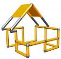 Moveandstic Basic Construction Kit, orange