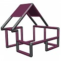 Moveandstic Basic Construction Kit, magenta