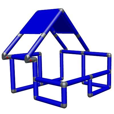 Moveandstic Basic Construction Kit, blue