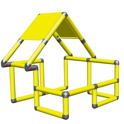 Moveandstic Basic Construction Kit, yellow