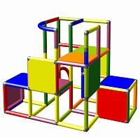 Moveandstic Profi construction kit - multicolor