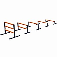 Hurdles - Set profi  Dog Agility-hurdle for slalom practice for dogs sport