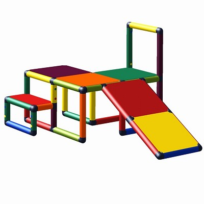 Moveandstic Sissi - climbing platform with toddlers slope multicolor