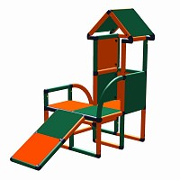 Moveandstic Levi - tower with toddlers slide