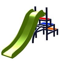 Moveandstic - slide for children Toffi