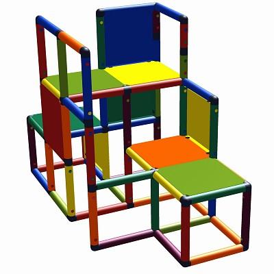Moveandstic climbing-Max - climbing podium multicolor