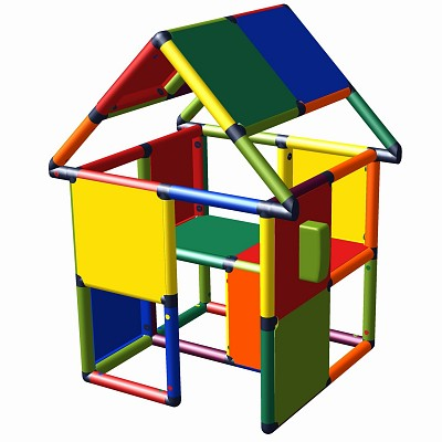 Moveandstic Monte - play house with gaming phone multicolor