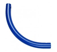 Moveandstic curved tube, blue