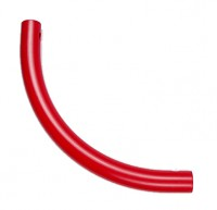 Moveandstic curved tube, red